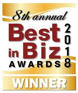 Best in Biz award GOLD winner