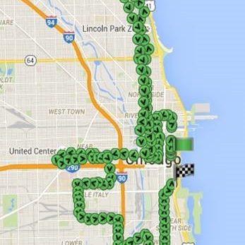 Quartix Vehicle Tracking Director Completes Chicago Marathon Trip