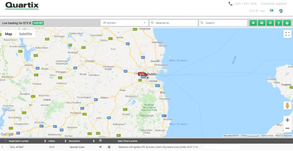Live Tracking Ireland