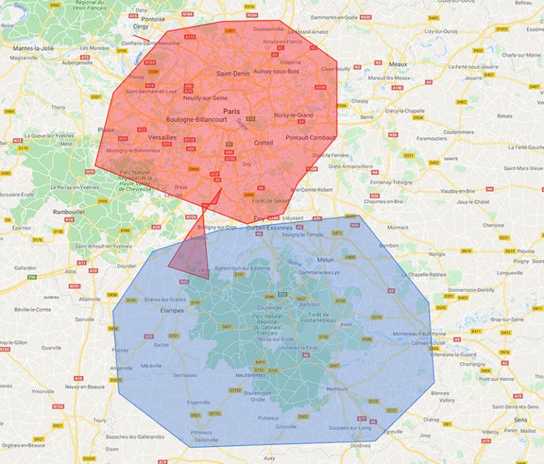 Système de géolocalisation de véhicules Quartix : mise à jour de la fonctionnalité de geofencing