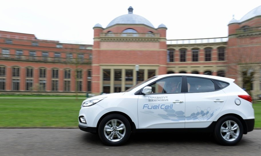 university of birmingham vehicle tracking