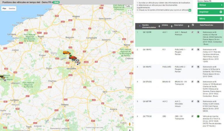 Le geofencing, compris dans le système de géolocalisation de véhicules Quartix, peut s'avérer être un outil très utile pour améliorer votre service client.