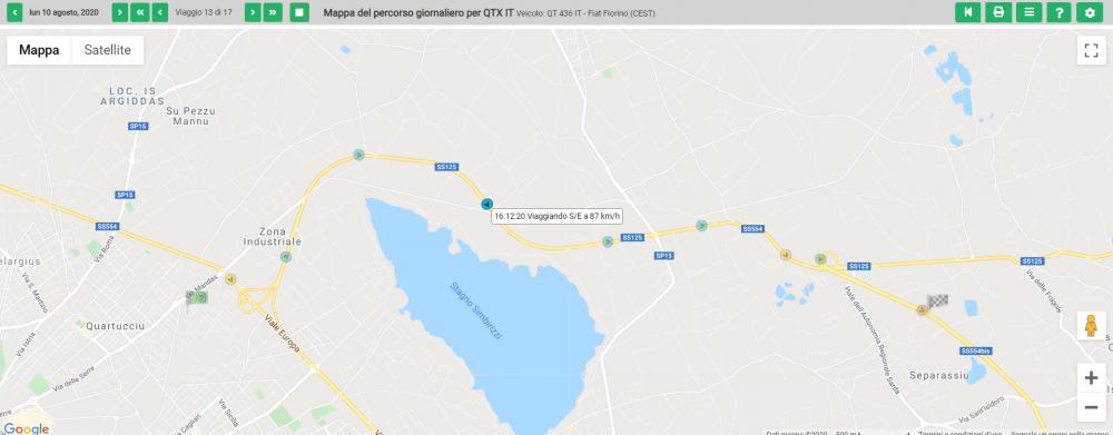 Personalizzazione delle icone di localizzazione in tempo reale