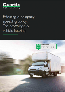company speeding policy guide