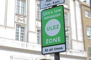ultra low emission zone signage