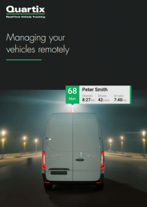 Managing vehicles remotely