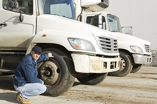 Company Vehicle Tire Health