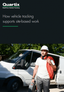 site based work vehicle tracking guide