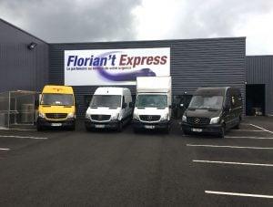 L'entreprise Florian't Express utilise le système de géolocalisation Quartix à tout moment de la journée