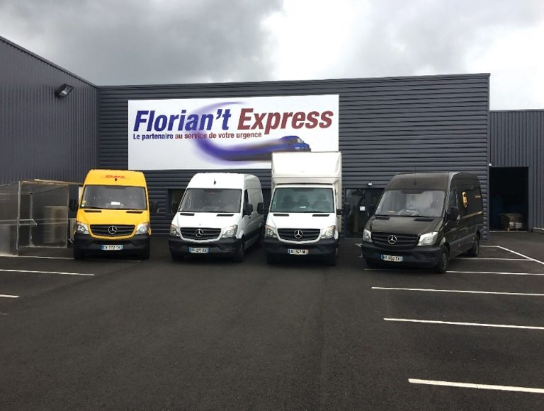 L'entreprise Florian't Express se sert du système de géolocalisation de véhicules Quartix à tout moment de la journée