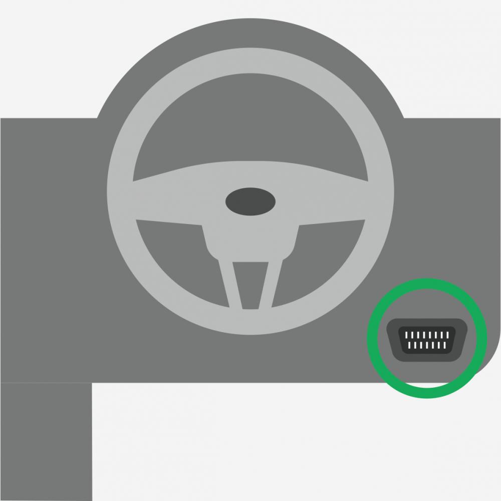 Facile à installer sur la prise OBD de vos véhicules, la balise Plug & Track de Quartix est une solution de géolocalisation de véhicules ultra pratique