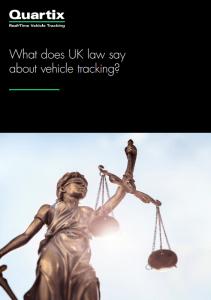 uk vehicle tracking laws