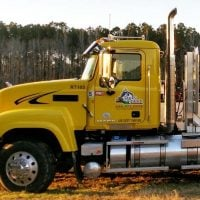 Rocky Branch Contractor long haul vehicle for construction services jobs